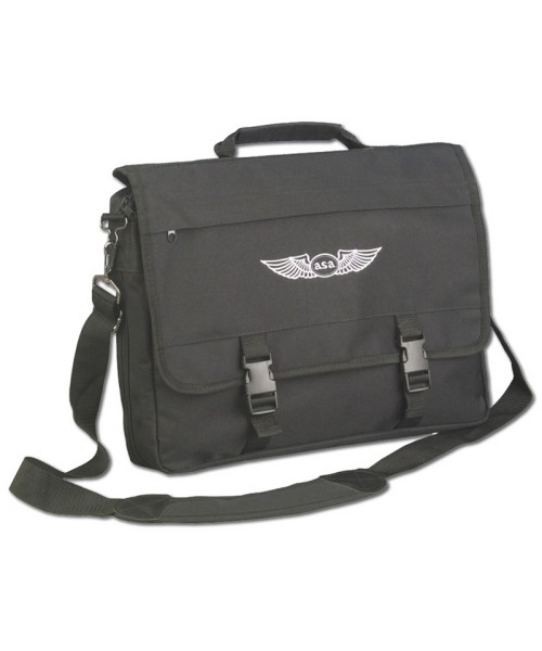 ASA - Flight Briefcase, black