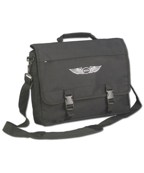 ASA - Flight Briefcase, black