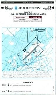 Jeppesen Enroute Chart Europa - E (HI) 13/14