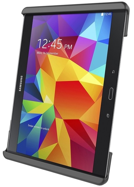 RAM Mounts Universal Tab-Lock Halteschale (abschließbar) für 10 Zoll Tablets inkl. Samsung Tab 4 10.