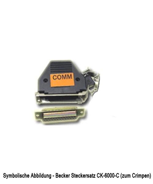 Becker AR42xx/62xx Steckersatz (CK-6000-C) - zum Crimpen