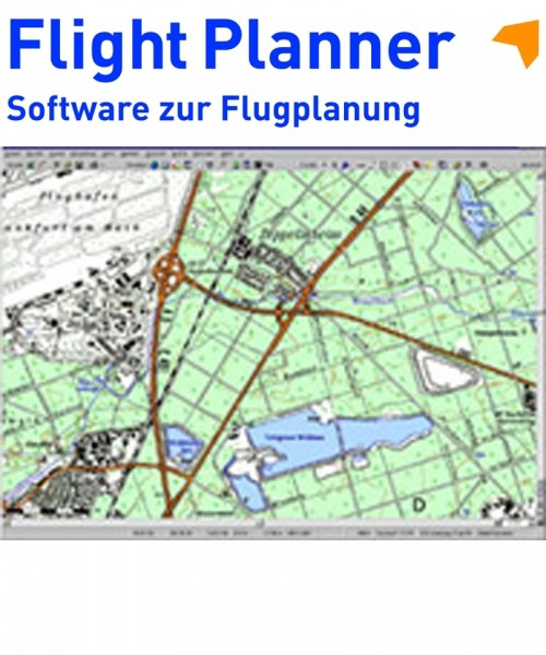 Flight Planner / Sky-Map - TK 50 Karte Berlin + Brandenburg Vorpommern (1:50.000)