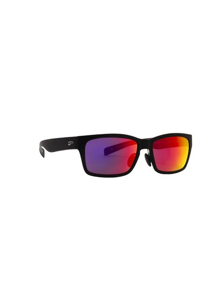 Flying Eyes Sunglasses Kingfisher - Matte Black Frame, Mirrored Sunset Lenses