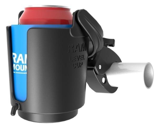 RAM Mounts Tough-Claw Getränkehalterung - mit Tough-Claw, B-Kugel (1 Zoll), im Polybeutel