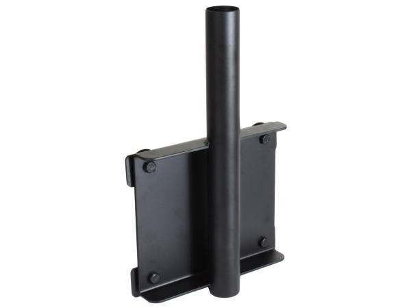 RAM Mounts Universal-Basis mit Tele Pole Aufnahme für Fahrzeug-Laptop-Halterungen - vertikale Anbind