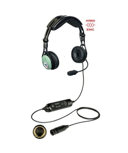 David Clark PRO-X2 Hybrid ENC Headset - active, XLR-5 Plug (5-Pin), Modell 43105G-07
