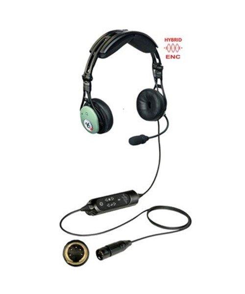David Clark PRO-X2 Hybrid ENC Headset - aktiv, XLR-5-Stecker (5-Pin), Modell 43105G-07