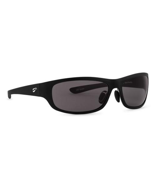 Flying Eyes Sonnenbrille Golden Eagle Sport - Rahmen matt-schwarz, Gläser grau