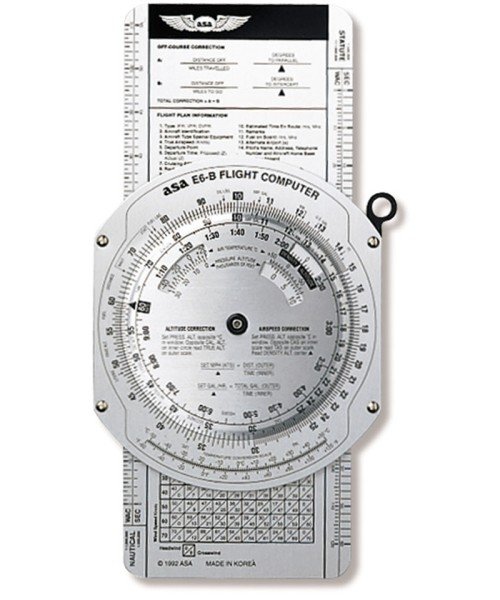 E6-B Flight Computer (ASA) - Aluminum