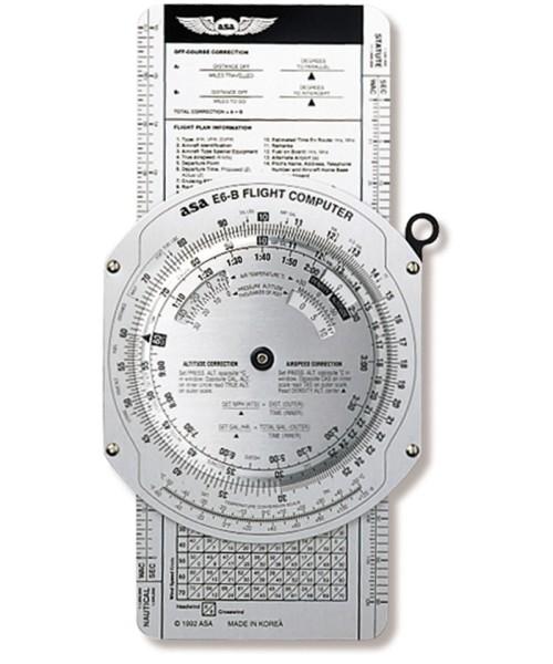 E6-B Flight Computer (ASA) - Aluminium