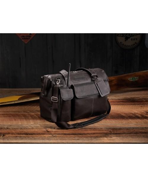 Lightspeed Adventure Flight Bag - The Gann, espresso brown
