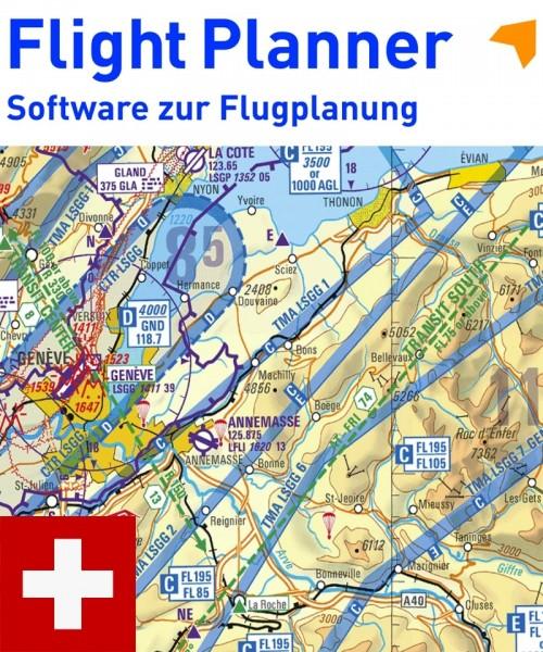 Flight Planner / Sky-Map - ICAO Karte Schweiz