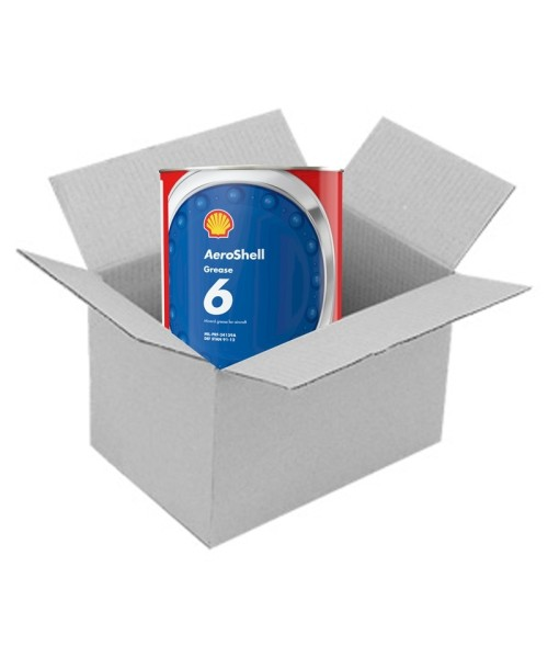 AeroShell Grease 6 - Box (4x 3 kg Cans)
