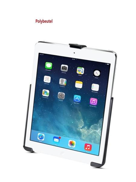 RAM Mounts Gerätehalteschale für Apple iPad Air/Air 2/Pro 9.7 (ohne Schutzhüllen/-gehäuse) - AMPS-An
