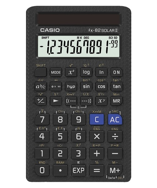 Casio FX-82 Solar II Calculator
