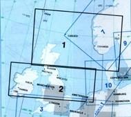 Jeppesen Enroute Chart Europa - E (LO) 1/2