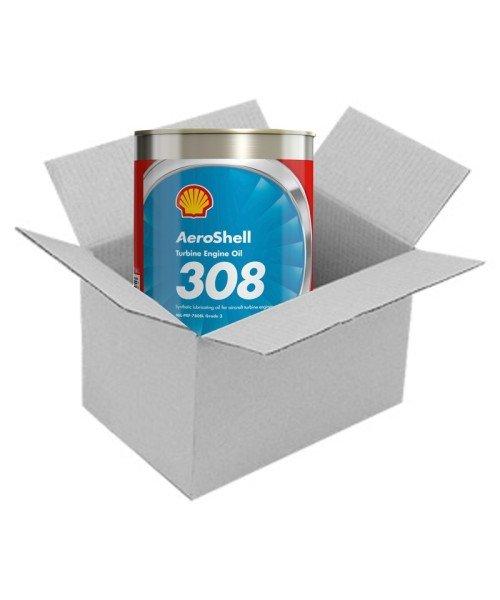 AeroShell Turbine Oil 308 - Karton (24x 1 AQ Dosen, US-Quart)