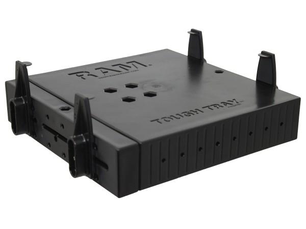 RAM Mounts Tough-Tray, Universal Laptop-Halteschale mit flachen Seitenarmen - AMPS-Anbindung