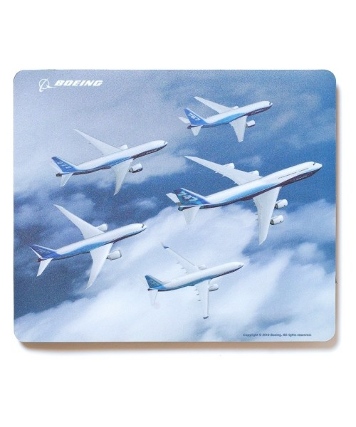 Boeing Commercial Family Mousepad