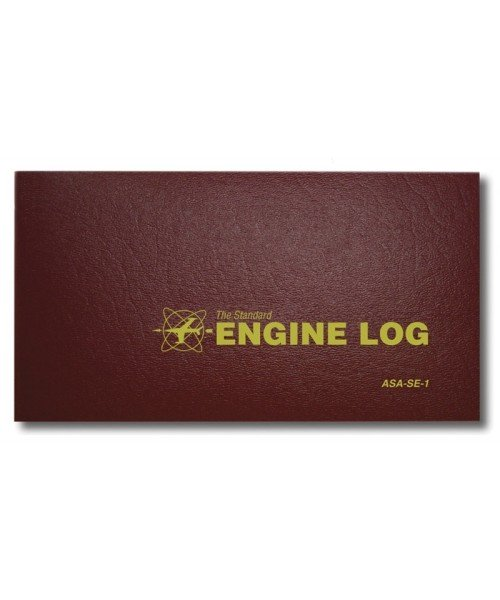 ASA Engine Log - Hardcover, 96 Seiten