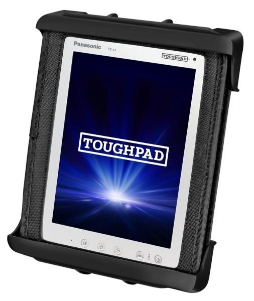 RAM MOUNT Tab-Tite Universal Clamping Cradle for Panasonic Toughpad FZ-A1 with Case - RAM-HOL-TAB9U