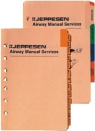 Jeppesen Set of Alphabetical Tabs A-Z (for IFR Airway Manual Binders)