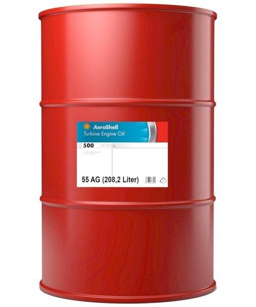 AeroShell Turbine Oil 500 - 55 AG Fass (208,2 Liter)