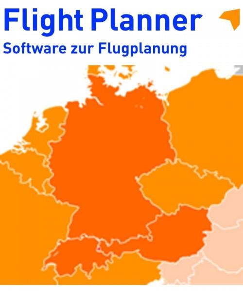 Flight Planner / Sky-Map - VFR Sichtanflugkartenpaket Deutschland, Österreich, Schweiz (AIP-DACH)