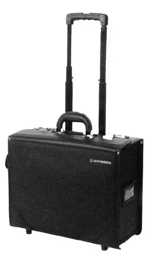 Jeppesen Premium Flight Case, with rolling wheels