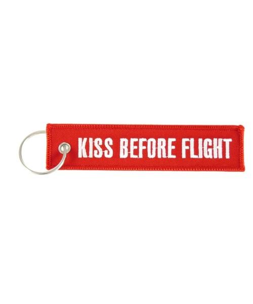 Key Ring KISS BEFORE FLIGHT