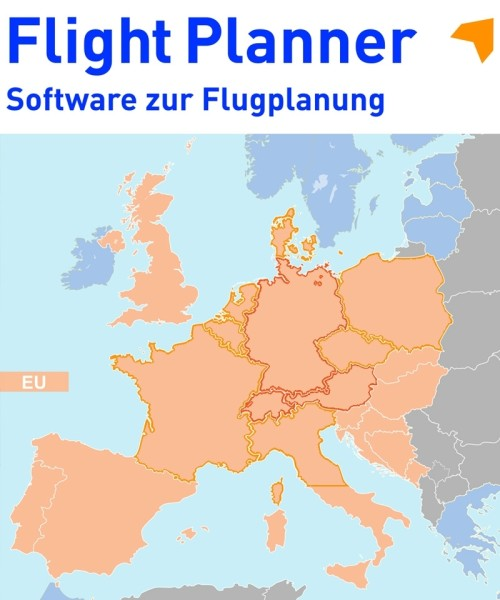 Flight Planner / Sky-Map - Trip-Kit Europe (ICAO Charts and AIP)