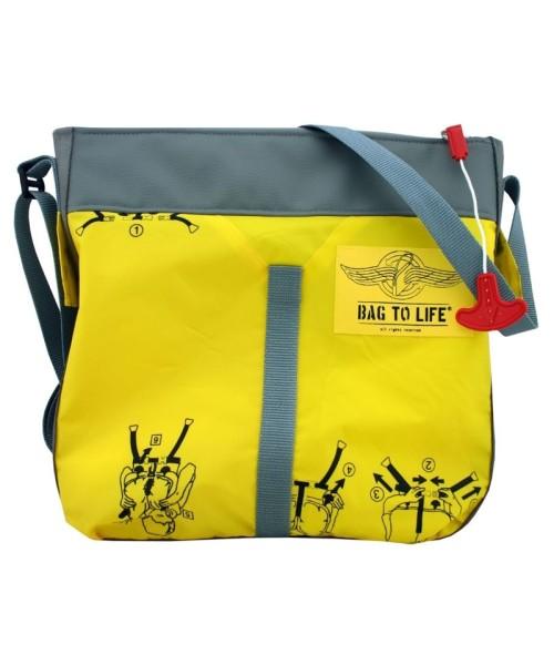 BAG TO LIFE Classic Flyer Bag - yellow/grey