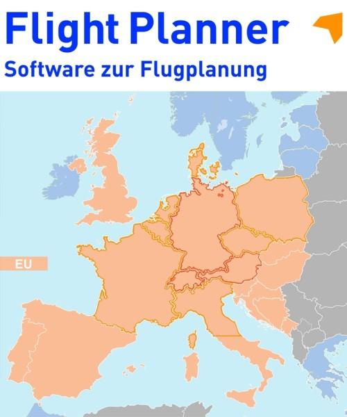 Flight Planner / Sky-Map - Chart Set ICAO Europe (ICAO-EU)