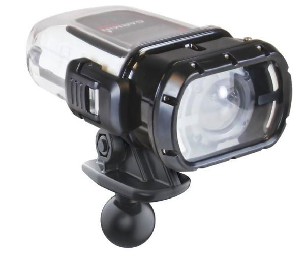 RAM Mounts Kamera-Adapter für Garmin Unterwassergehäuse (VIRB Kameras) - B-Kugel (1 Zoll), im Polybe