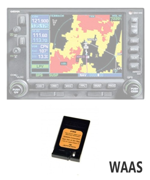 Garmin Datawriter WAAS Update Central Europe with 1 year Revision Service - for GNS 430W and 530W