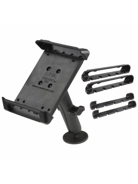 RAM Mounts Universal Aufbauhalterung für 7-Zoll Tablets - B-Kugel (1 Zoll), mit runder Basisplatte (