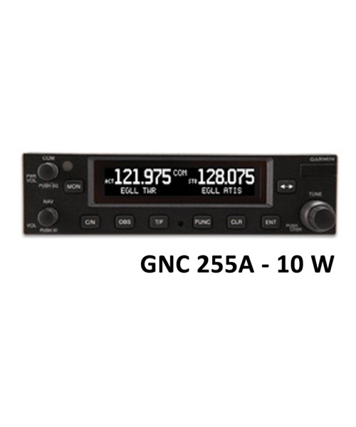 Garmin GNC 255A, Comm/Nav, 8.33 & 25 kHz, 10W - incl. Installation Kit, Fixed-Wing only