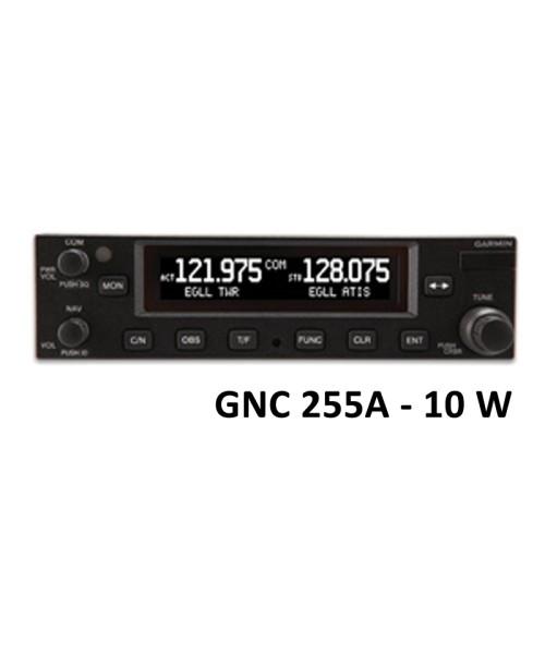 Garmin GNC 255A, Comm/Nav, 8,33 & 25 kHz, 10W - mit Einbaurahmen