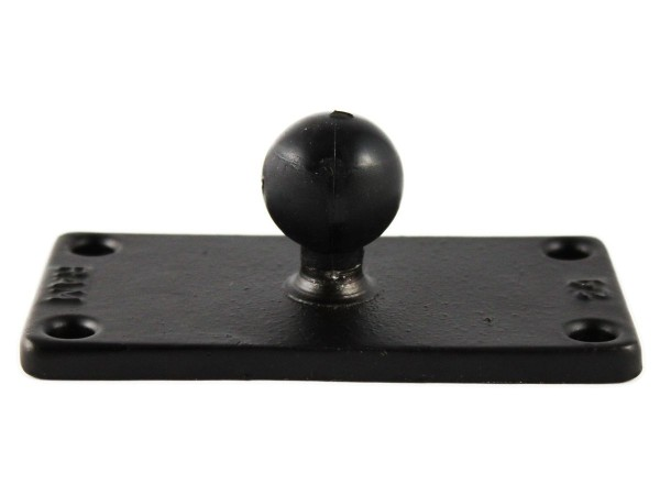 "RAM MOUNTS 2"" x 4"" Rectangle Base with 1"" B-Ball"