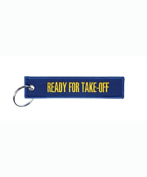 Schlüsselanhänger READY FOR TAKE-OFF