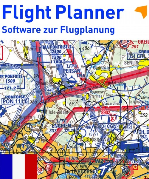 Flight Planner / Sky-Map - ICAO Chart France