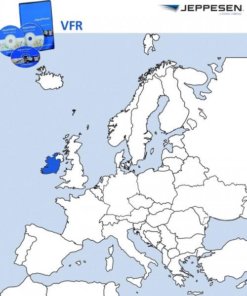 JeppView VFR - Irland (JVVIE) inkl. Berichtigungsdienst