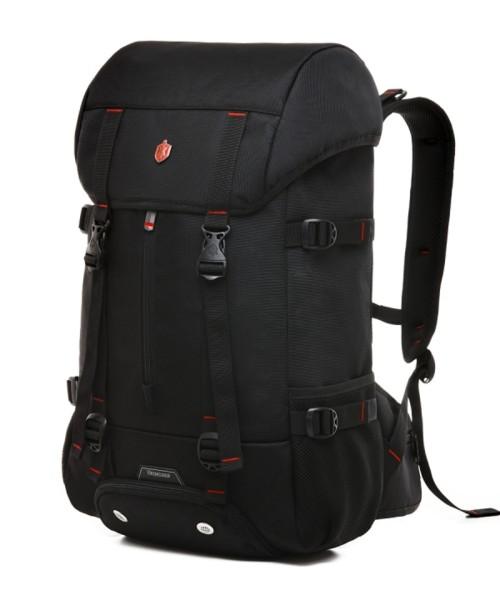 Krimcode Street Casual Backpack - 39 liters volume, black (KSTB21-1N0SM)