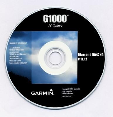 Garmin G1000 PC-Trainer für Diamond DA42NG (Version 11.12)