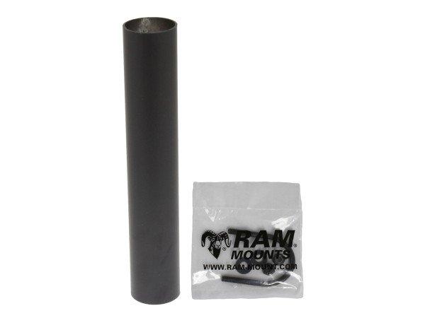 RAM Mounts Tele Pole Aufnahmerohr für Tough-Box - Rohrlänge ca. 215 mm, Schrauben-Set