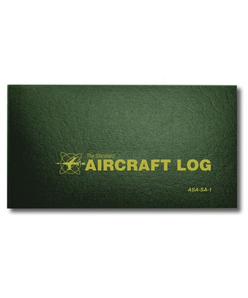 ASA Aircraft Log - Softcover, 64 pages