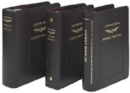 Jeppesen IFR Leather Binder (BB-2) - 2 Inches, brown