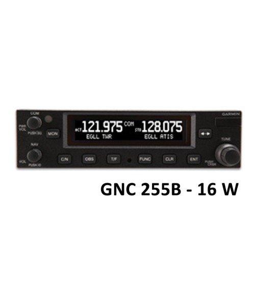 Garmin GNC 255B, Comm/Nav, 8,33 & 25 kHz, 16W - mit Einbaurahmen