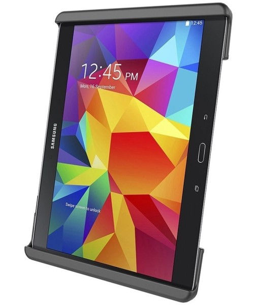 RAM Mounts Universal Tab-Tite Halteschale für 10 Zoll Tablets inkl. Samsung Tab 4 10.1/Tab S 10.5 (o