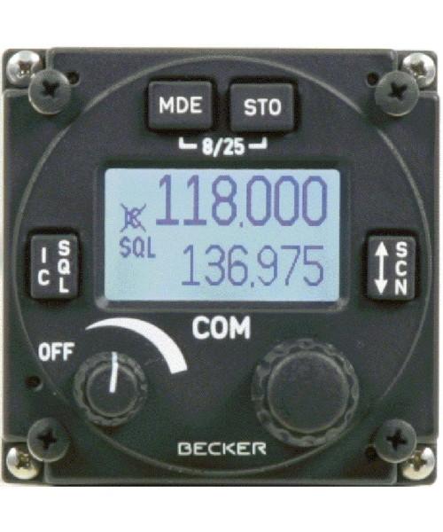 Becker AR6201-(022) VHF/AM Sprechfunkgerät - 8,33 / 25 kHz, 6 Watt, inkl. Steckersatz CK4201-S